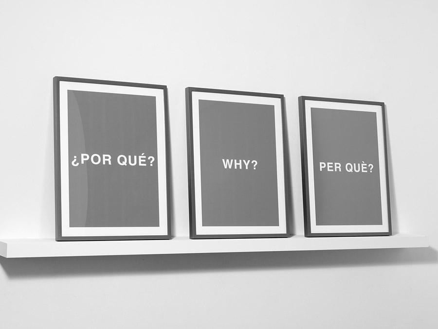 ¿Por qué? Why? Per què?, 2007