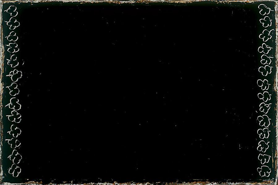 Flors gravades sobre negre, 2001