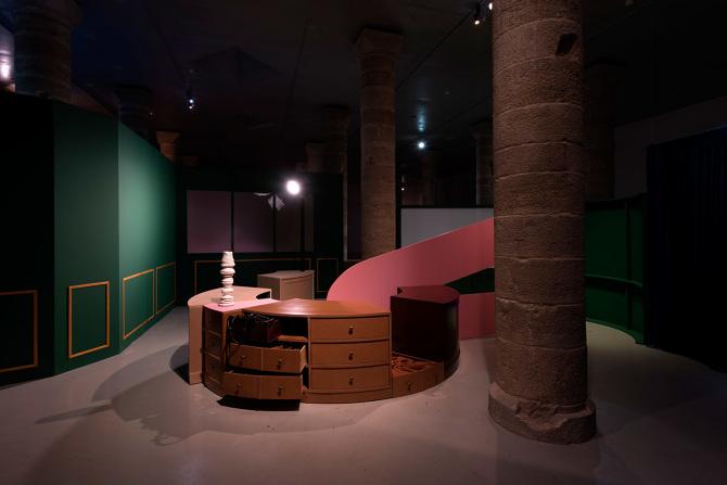 The circular desk, 2016