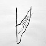 Dibuix (detall), tinta sobre paper