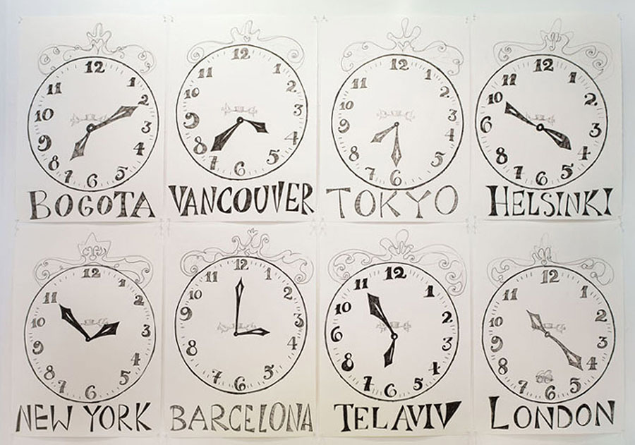 Time Zone (Barcelona), 2005