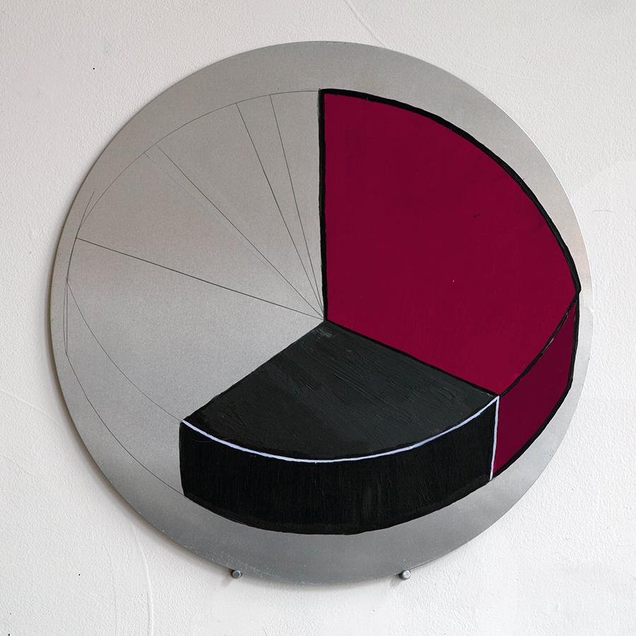 Serie Radial. Horizontes circulares #7, 2017