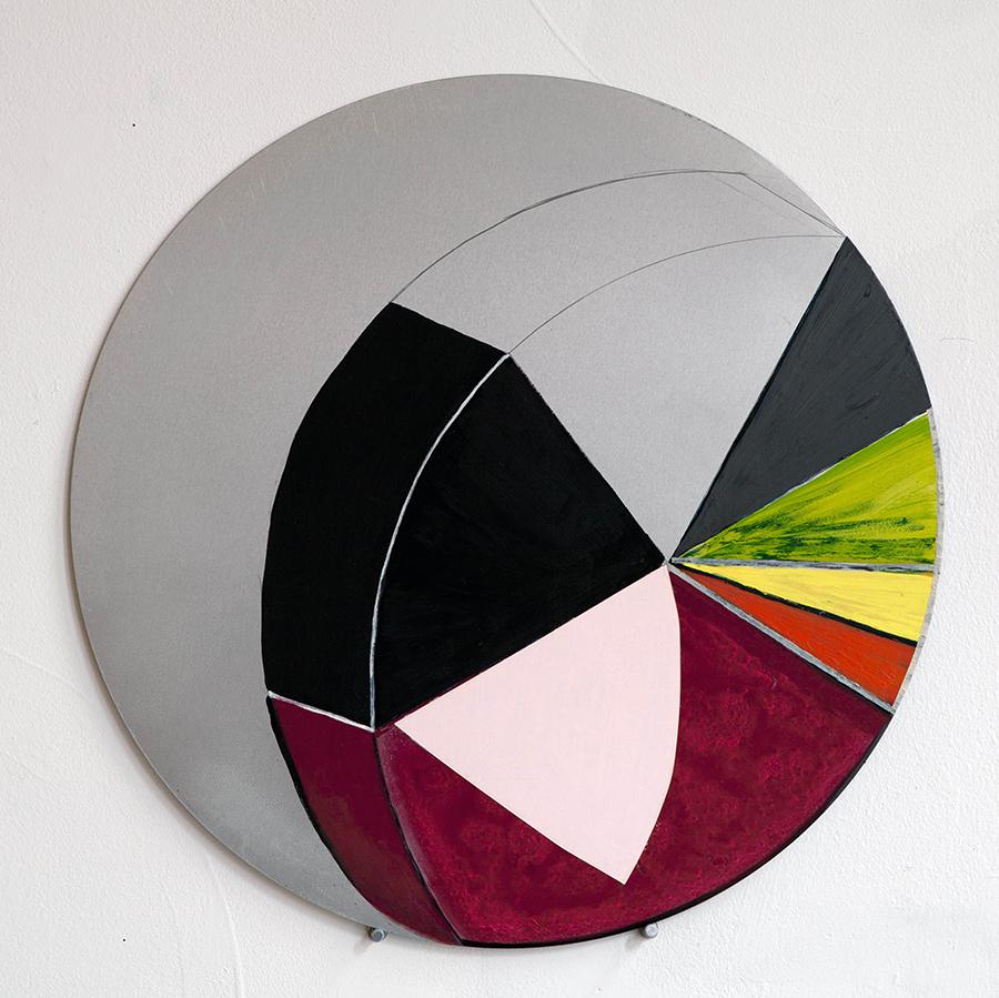 Serie Radial. Horizontes circulares #9, 2017