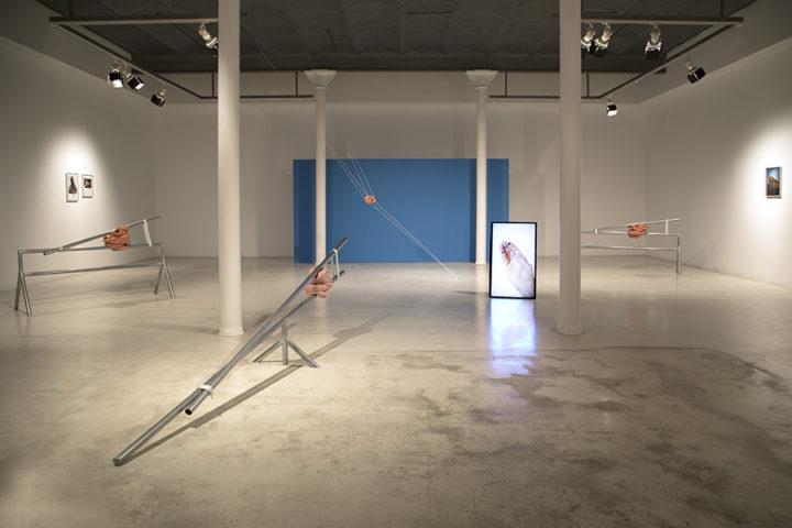 Vistas de exposición Galeria Joan Prats