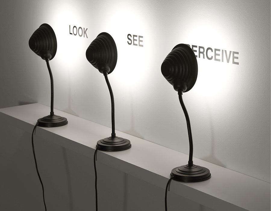 Look, See, Perceive, 2008