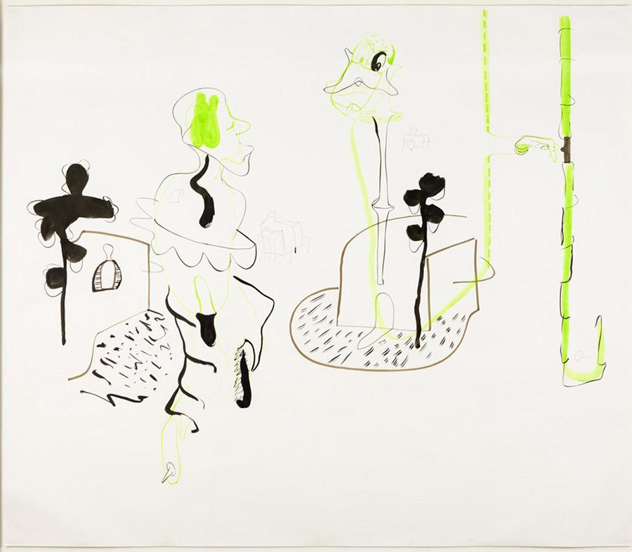 Desconocidos solitarios 3 (Urbanista descalzo), 2005