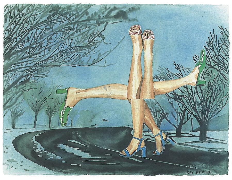 Zapatos de invierno, 2001
