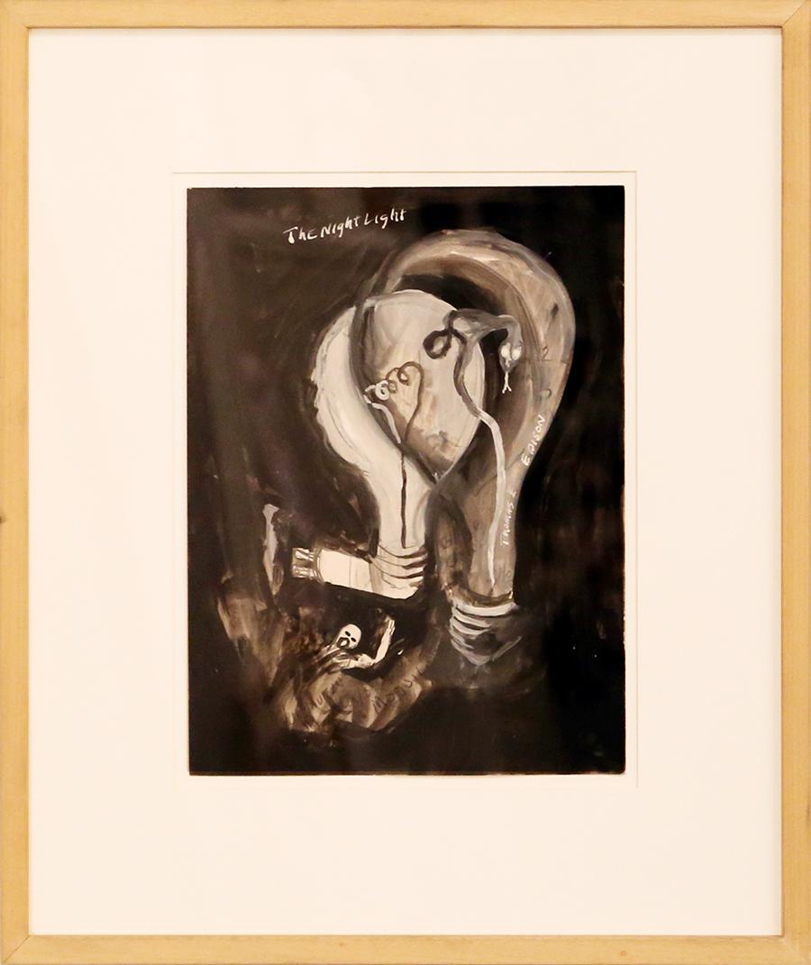Snake with night light, 1984