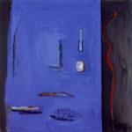 Blau intens i objectes, 1992