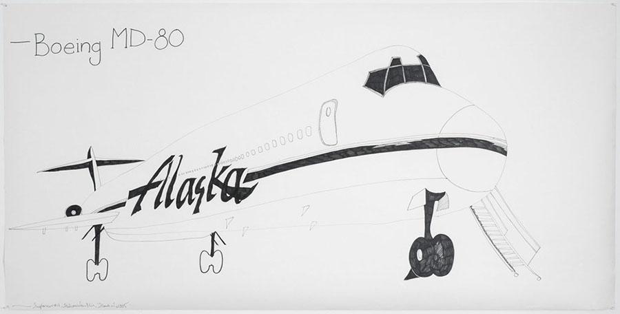 Airplanes # 4 (Alaska), 2005