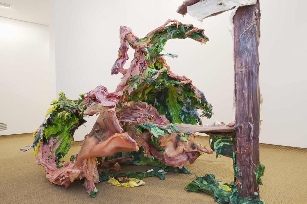 Megan: Structural Canvas Paintant, 2010