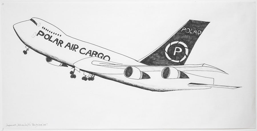 Airplanes #14 (Polar Air Cargo), 2005