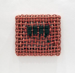 Structural Brush Mark (Olive Green), 2014