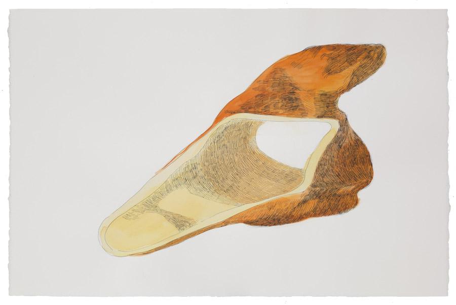 Forma de fuga: tuneladora (2), 2020