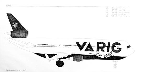 Airplane #08 (Varig Brasil), 2005