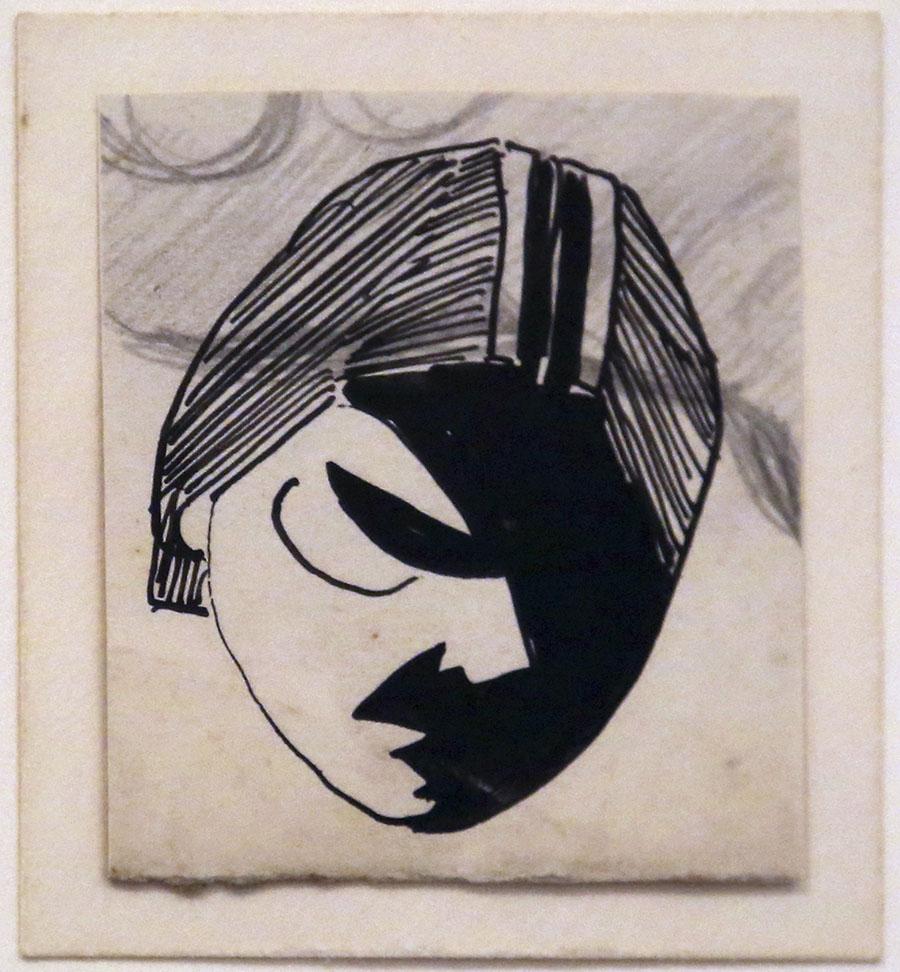 Petit masque n3, 1930-31
