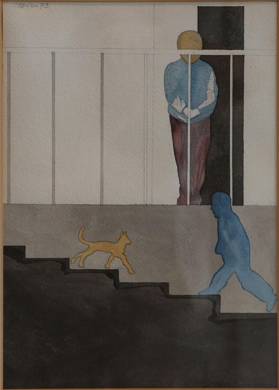 Escalera, 1973