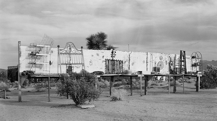 The Interior and the Exterior - Noah Purifoy, 2014