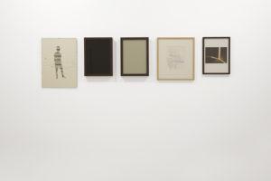 Five frames (black and grey grey), 2014