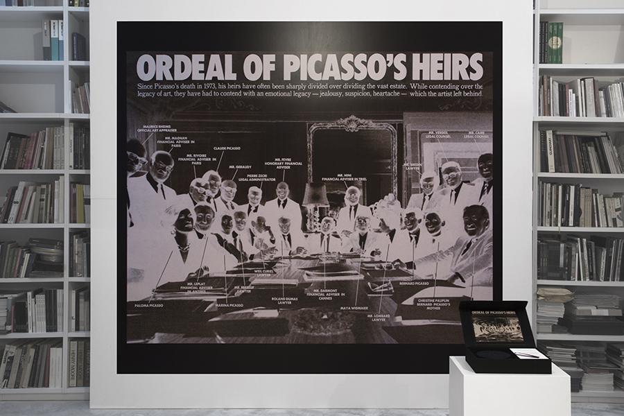 Ordeal of Picasso's heirs. The New York Times Magazine. April 20th, 1980, 2012