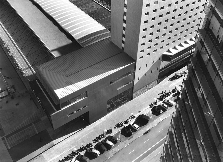 Hotel (4*) AC Fòrum per al Fòrum 2004, Barcelona (2002-2004)