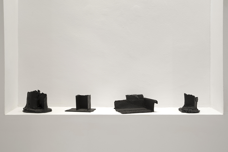 Small bronze models, 2018