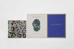 Luis Gordillo - 3 catalogues