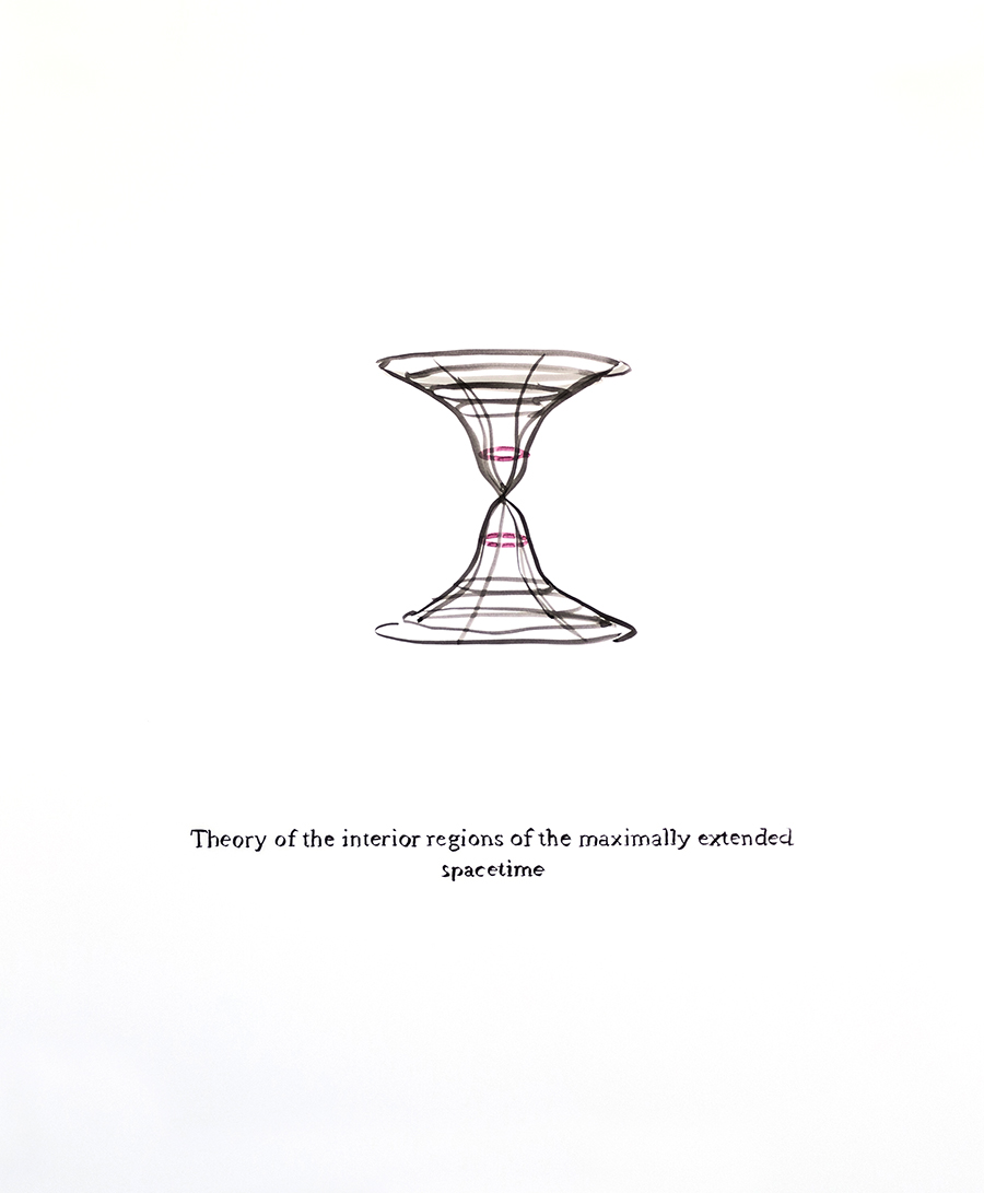 Theory of the Interior Regions of the Maximally Extended Spacetime, 2019