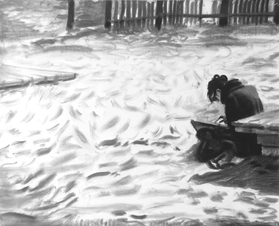 10. Sentada a la platja hi havia una noia dibuixant, 2019