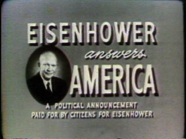 Political Advertisement X: 1952-2020